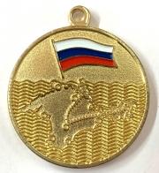 """Медаль """"За Крымский поход"""" казаков России"""