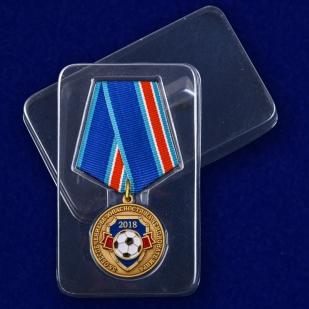 """Медаль """"За обеспечение безопасности на чемпионате мира 2018"""" с доставкой"""