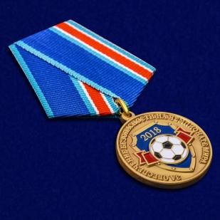 """Медаль """"За обеспечение безопасности на чемпионате мира"""" - общий вид"""