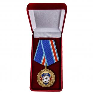 """Медаль """"За обеспечение безопасности на Чемпионате Мира"""" купить в Военпро"""