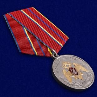 Медаль За отличие в службе 1 степени Росгвардия - общий вид