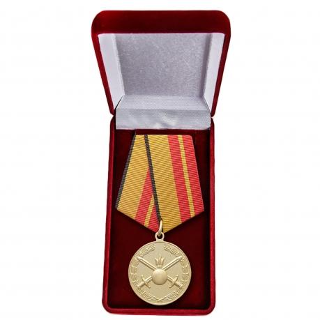 """Медаль """"За отличие в службе в Сухопутных войсках"""" МО в футляре"""