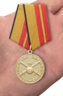 """Медаль """"За отличие в службе в Сухопутных войсках"""" в наградной коробке с удостоверением в комплекте"""