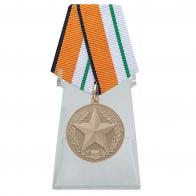 Медаль За отличие в соревнованиях 3 место на подставке