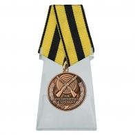 Медаль За отличную стрельбу на подставке