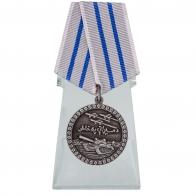 Медаль За отвагу Афганистан на подставке