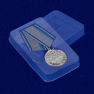 Футляр к медали «За отвагу и мужество. Афганистан»