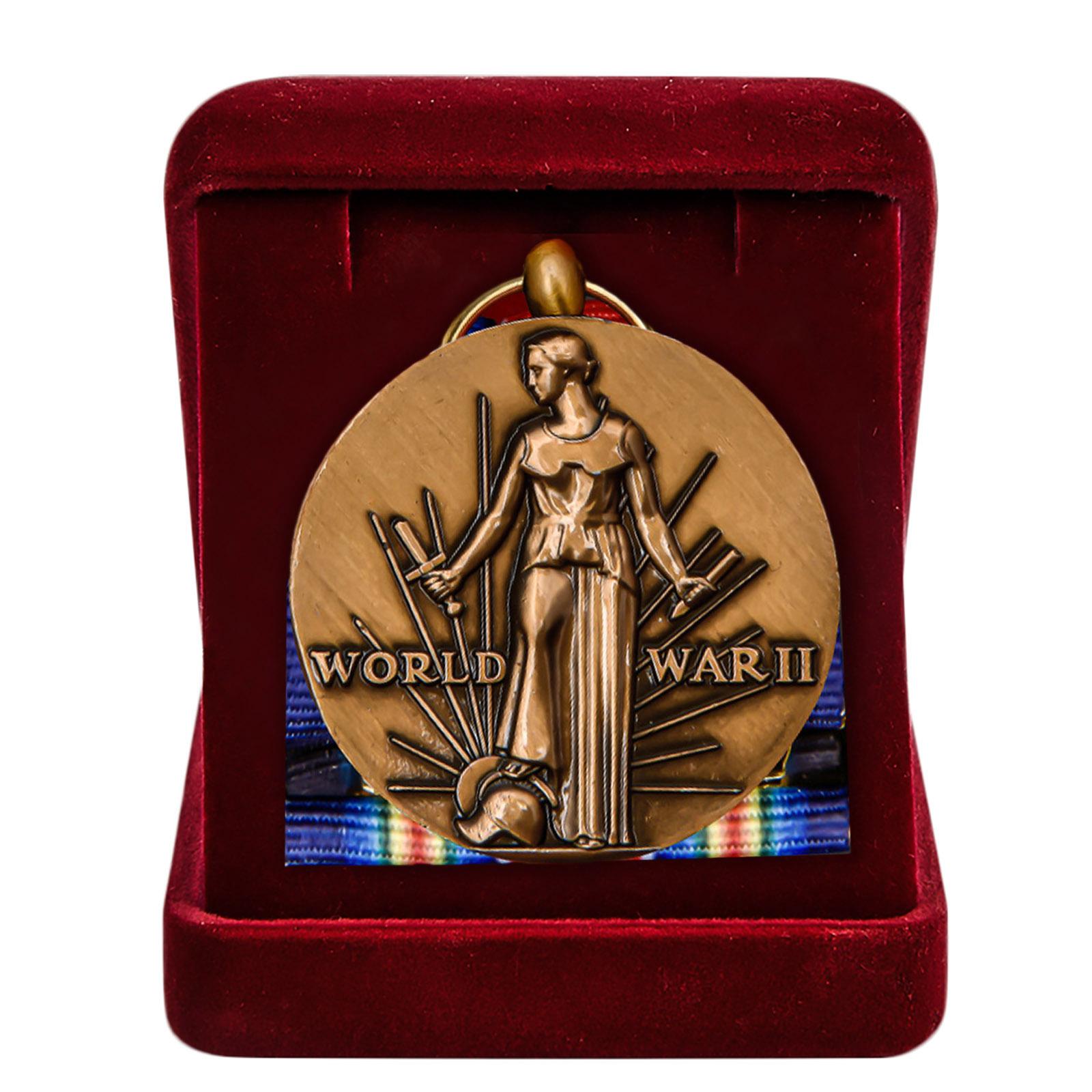 Купить американскую медаль За победу во II Мировой войне с доставкой