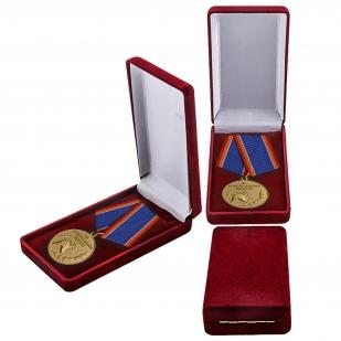 """Медаль """"За предупреждение пожаров"""" в футляре"""