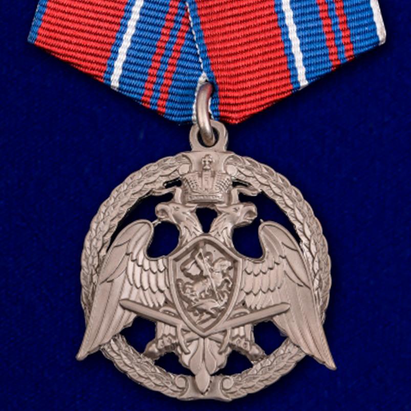 """Медаль """"За проявленную доблесть"""" 2 степени (Росгвардии)"""