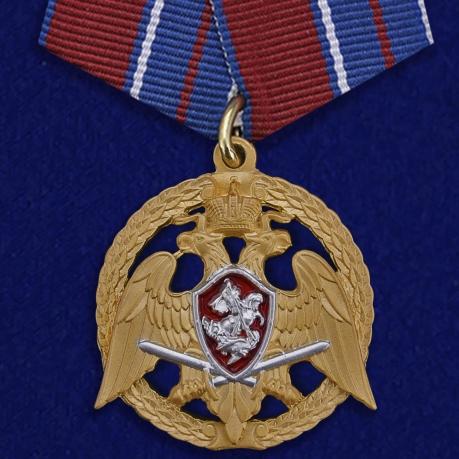 """Медаль """"За проявленную доблесть"""" 1 степени (Росгвардия)"""