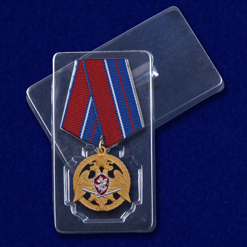 """Медаль """"За проявленную доблесть"""" 1 степени (Росгвардия) с доставкой"""