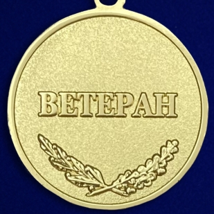 Медаль «За разработку, внедрение и эксплуатацию систем вооружения»- обратная сторона