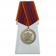 Медаль За службу 2 степени на подставке