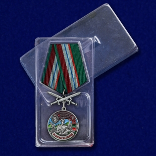 """Медаль """"За службу в Железноводском ПогООН"""" с доставкой"""