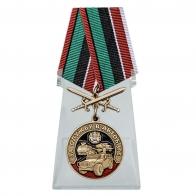Медаль За службу в Автобате на подставке