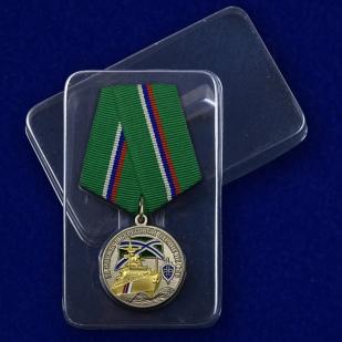 Медаль За службу в береговой охране - в пластиковом футляре