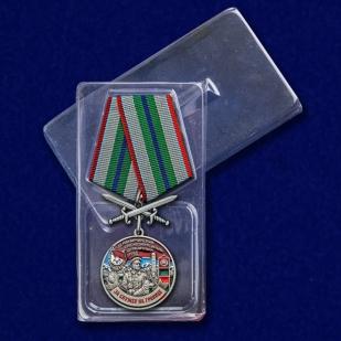 """Медаль """"За службу в Маканчинском пограничном отряде"""" с доставкой"""