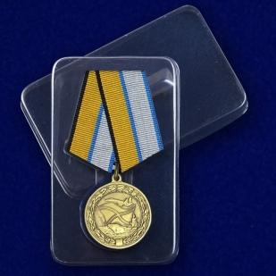 """Медаль """"За службу в морской авиации"""" МО РФ с доставкой"""
