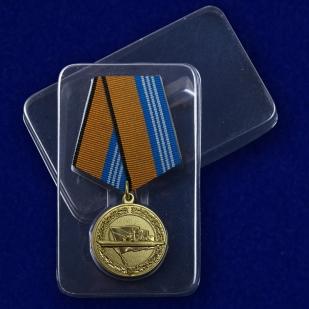 Медаль За службу в надводных силах - в пластиковом футляре