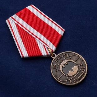 """Медаль """"За службу в спецназе"""" - общий вид"""