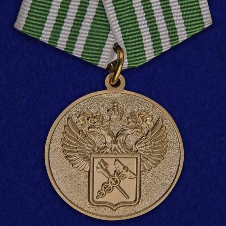 """Медаль """"За службу в таможенных органах"""" 3 степени"""