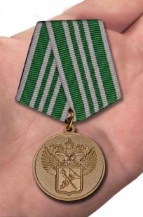 """Медаль """"За службу в таможенных органах"""" 3 степени с доставкой"""