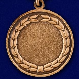 """Медаль """"За службу в Танковых войсках"""" в футляре из темно-бордового флока - купить онлайн"""