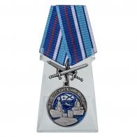 Медаль За службу в ВМФ на подставке