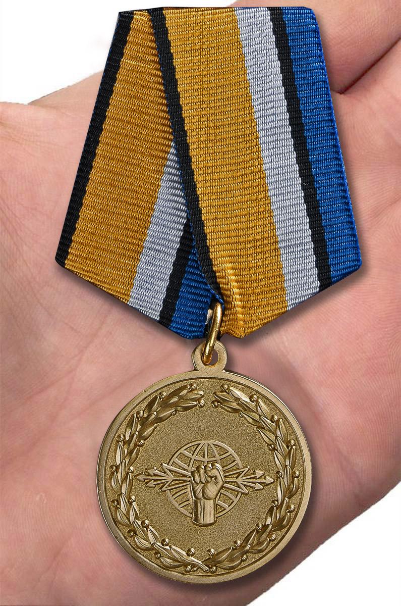 """Медаль """"За службу в войсках радиоэлектронной борьбы"""" с доставкой"""
