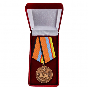 """Медаль """"За службу в ВВС"""" в футляре"""