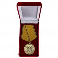Медаль За смелость во имя спасения МВД РФ - в футляре