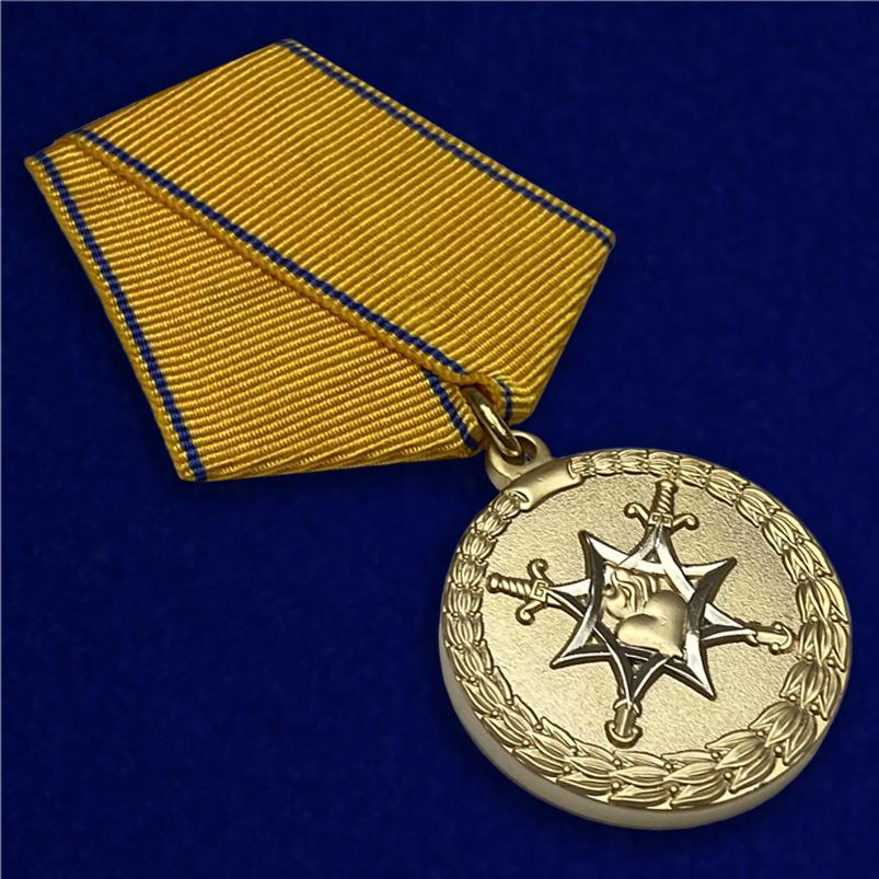 Медаль За смелость во имя спасения МВД РФ - общий вид