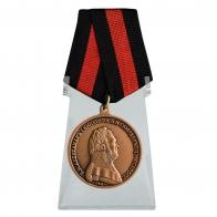 Медаль За спасение погибавших Александр I на подставке