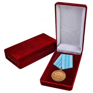 """Медаль """"За спасение утопающих"""" в футляре"""