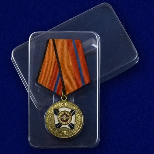 Футляр к медали «За трудовую доблесть» МО