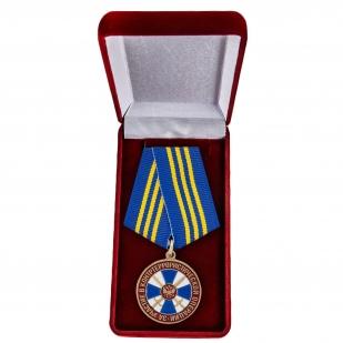 """Медаль """"За участие в контртеррористической операции"""" в футляре"""