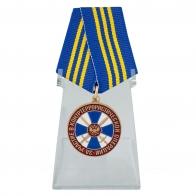 Медаль За участие в контртеррористической операции ФСБ РФ на подставке