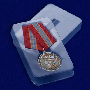 """Медаль """"За участие в военной операции в Сирии"""" в прозрачном футляре"""