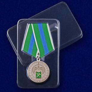 """Медаль """"За укрепление таможенного содружества"""" - в футляре"""