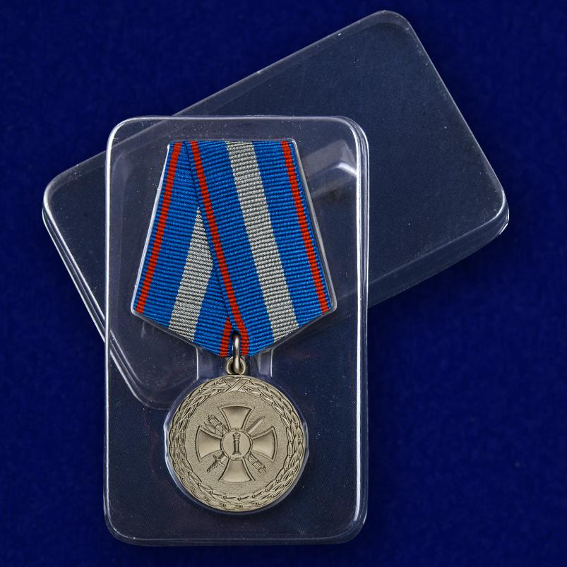"""Медаль """"За укрепление уголовно-исполнительной системы"""" 2 степени с доставкой"""