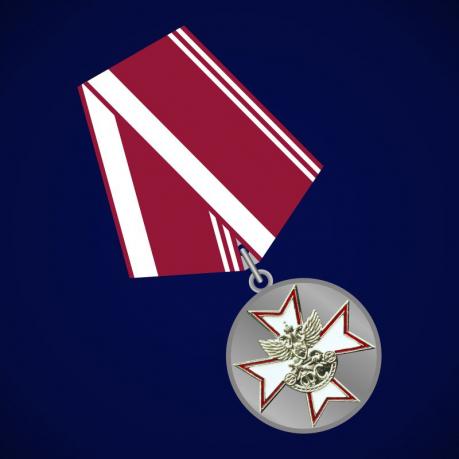 """Медаль """"За усердие"""" (ГСФ РФ) 2 степени"""