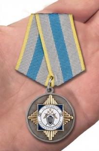 """Медаль """"За верность служебному долгу"""" (СК России) с доставкой"""
