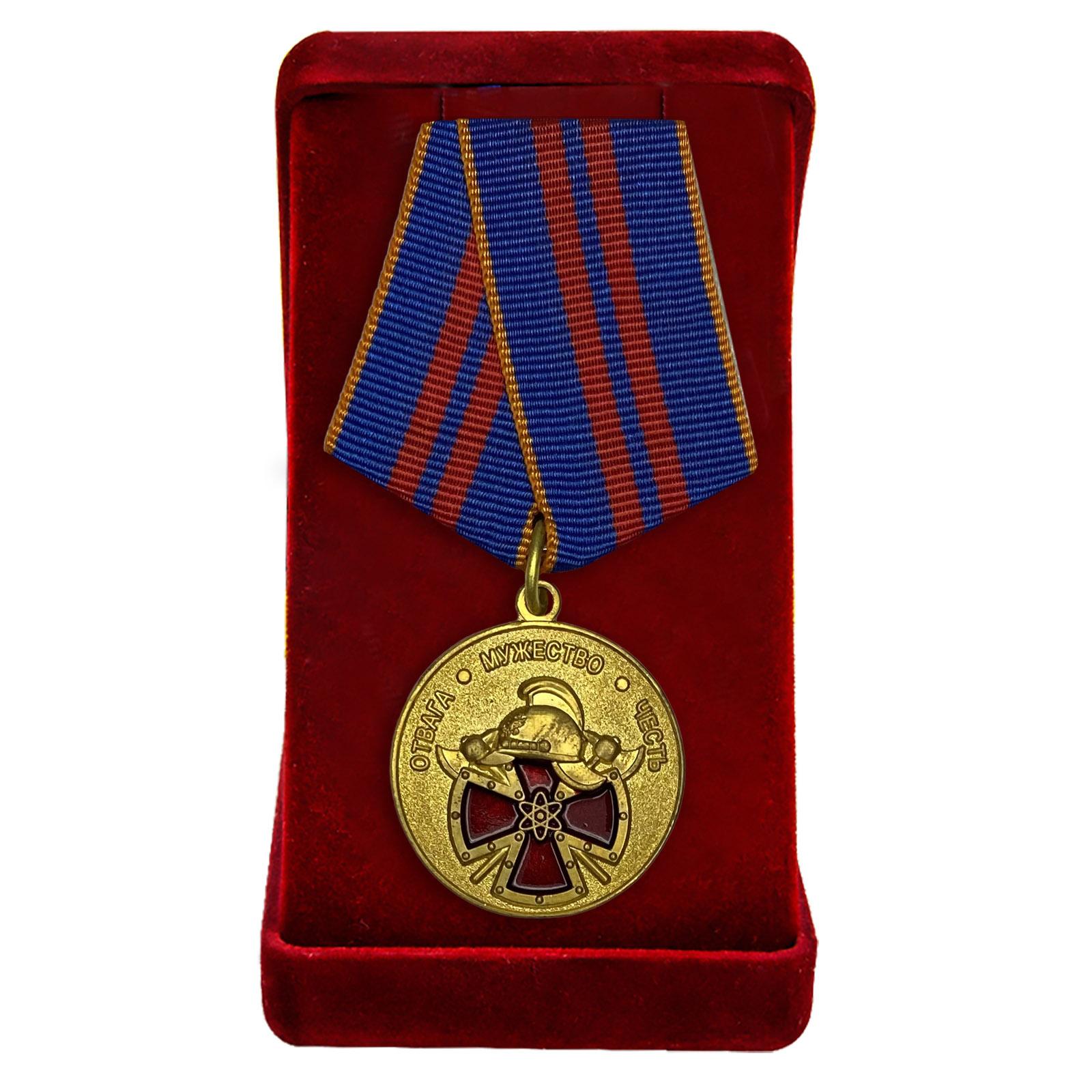 """Медаль """"За вклад в пожарную безопасность важных государственных объектов"""""""