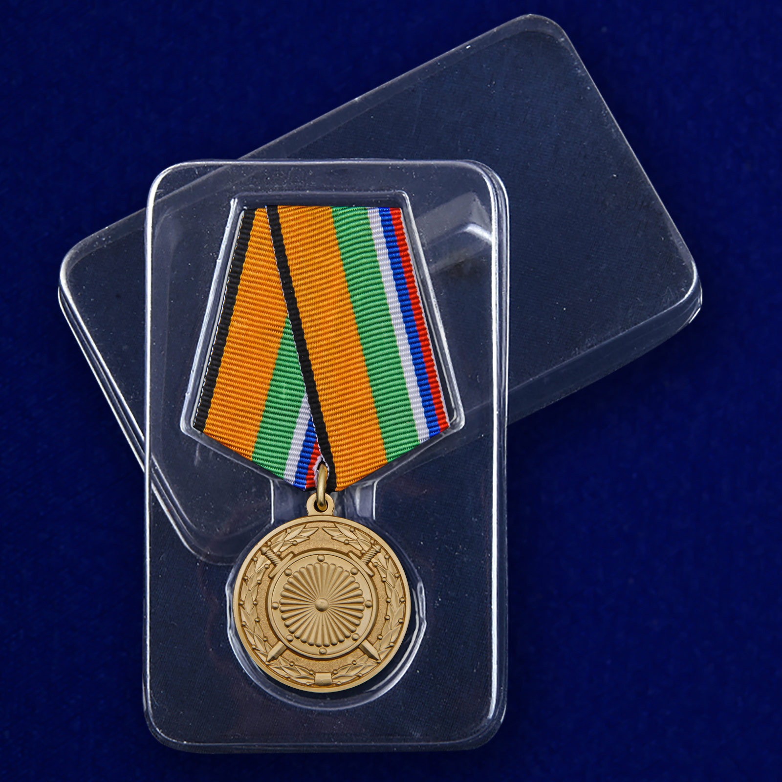 Медаль «За вклад в укрепление обороны РФ» с доставкой