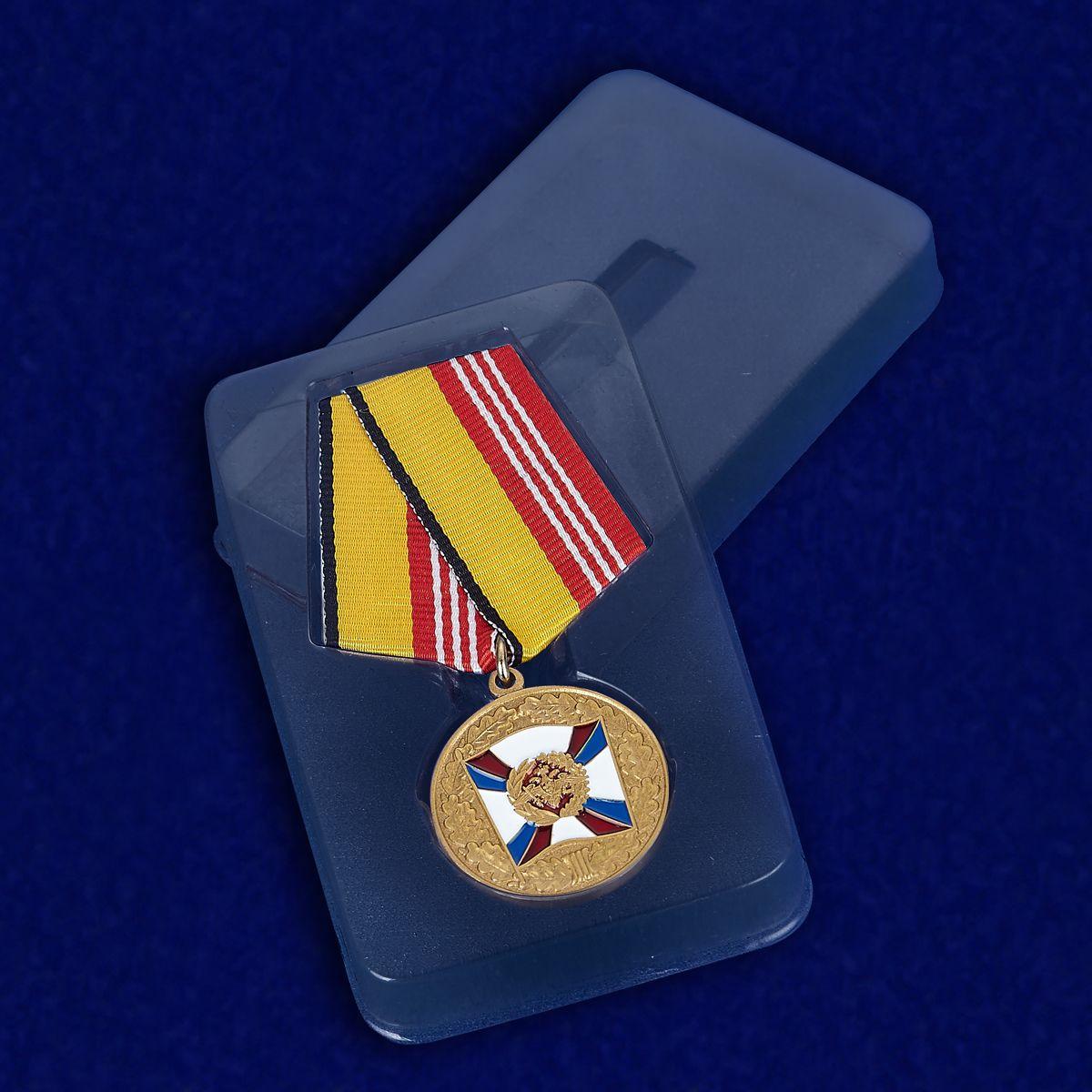 Медаль «За воинскую доблесть» 3 степень - в футляре
