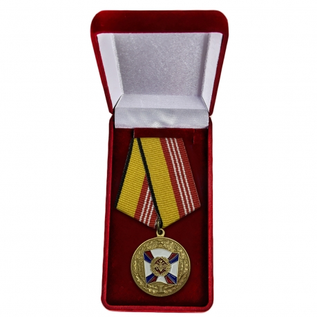 """Медаль """"За воинскую доблесть"""" 3 степени в футляре"""