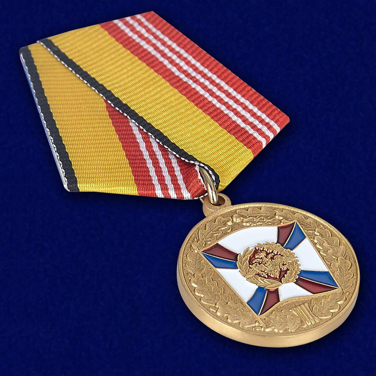 """Медаль """"За воинскую доблесть"""" МО РФ (3 степень) купить в Военпро"""
