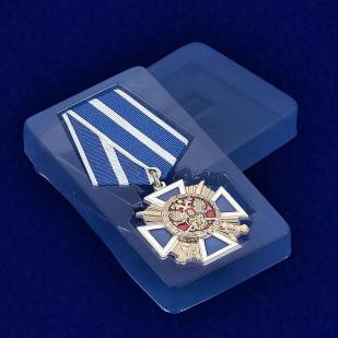 """Медаль """"За заслуги перед казачеством"""" 1-й степени - вид в футляре"""