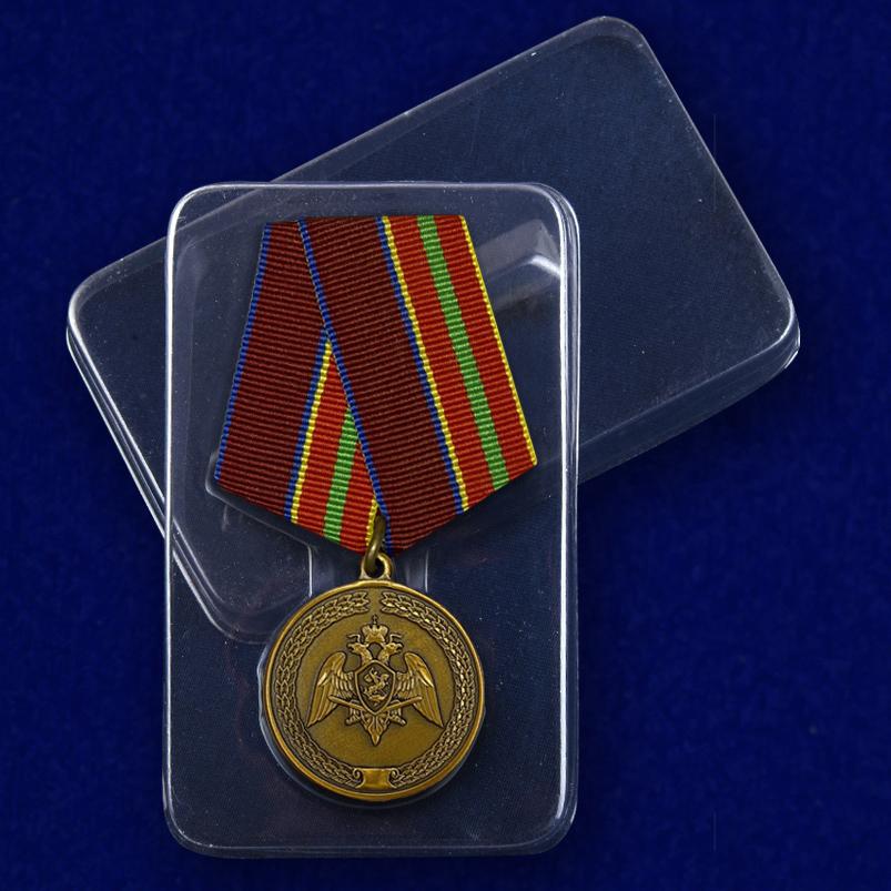 """Медаль Росгвардии """"За заслуги в труде"""" с доставкой"""